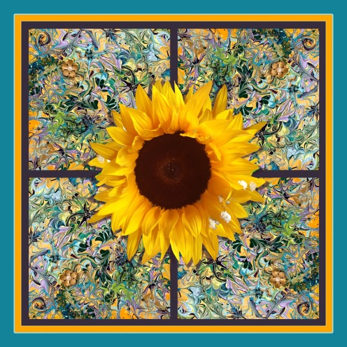 Summer Sunflower 1800x1800 by HMV Marek