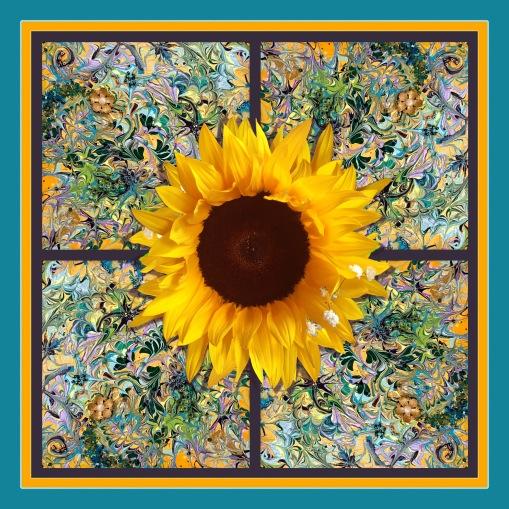 Summer Sunflower 1800x1800 by HMV Marek