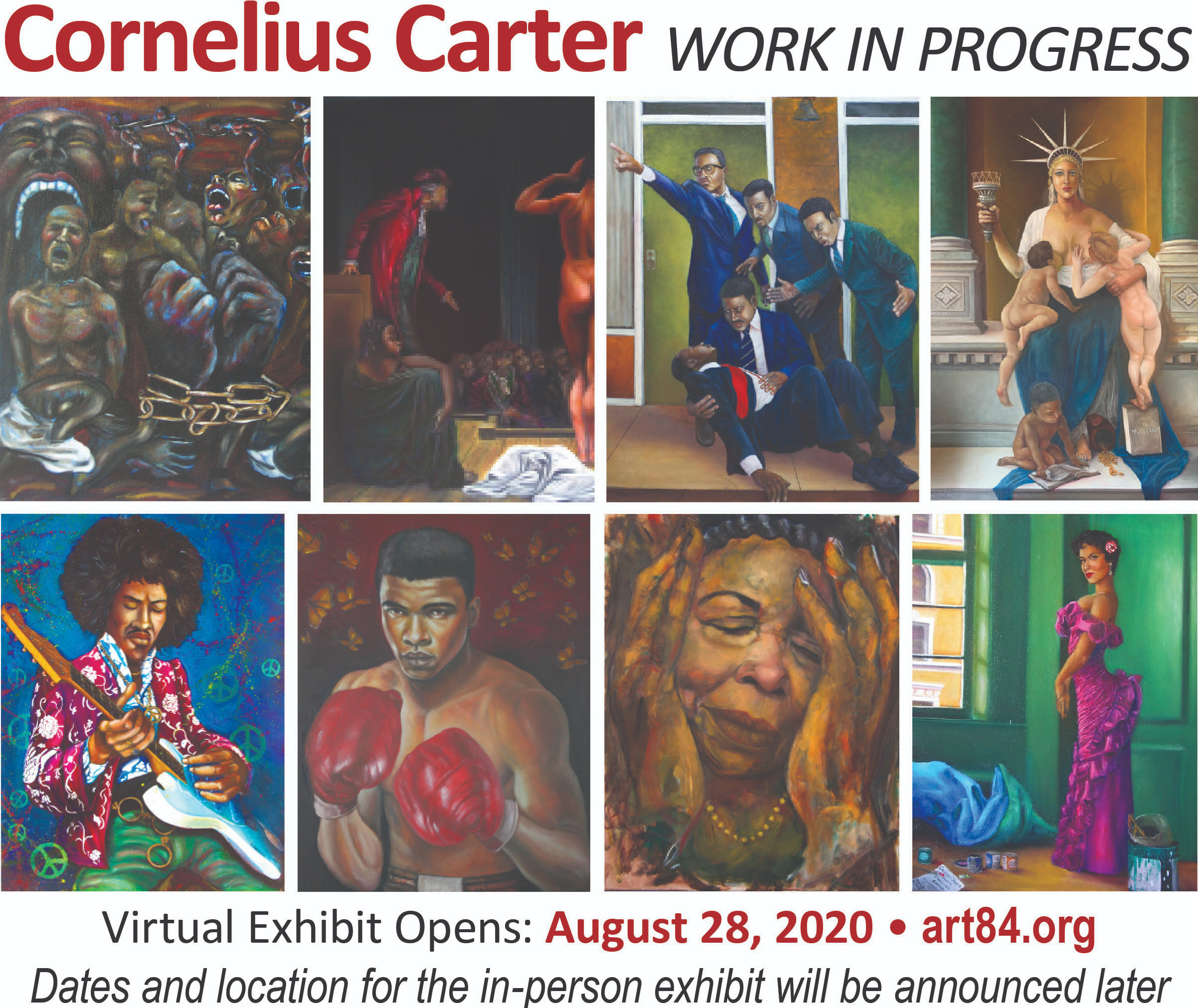 Virtual Exhibit Opens: August 28, 2020 -- Art 84.org