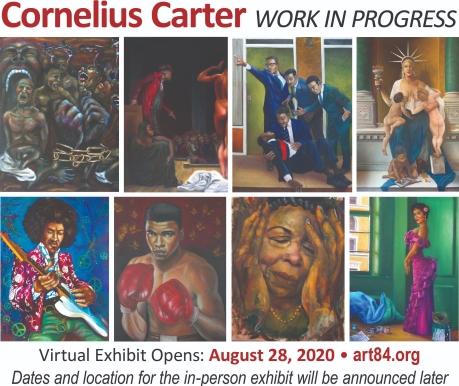 Virtual Exhibit Opens: August 28, 2020 -- Art 84.org